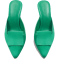 LedaTrend - Mango green mules - Klasični čevlji - 60.00€