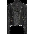 sandra  - Mango leather jacket - Jacket - coats -