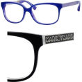Amazon.com - Marc By Marc Jacobs MMJ 462 glasses 0M0I Black White Black - Eyeglasses - $90.99