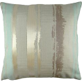 whisper - Margo Duck Egg Stripe Cushion Cover - Uncategorized - £10.00