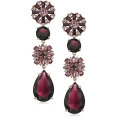 Mees Malanaphy - Maroon earrings - Earrings -