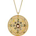 Zmeelis - Medal style golden necklace - Necklaces -