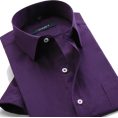Maria Kuroshchepova - Men's purple shirt (Ali Express) - Long sleeves shirts -