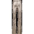 Aida Susi Silva - Metallic Leather Flare Trousers - BO.BÔ - Capri & Cropped -