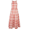 Aurora  - Midi Check Dress - Dresses -