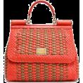 beautifulplace - Mini woven leather shoulder bag | DOLCE - Hand bag -