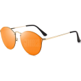 Beebeely - Mirrored Sunglasses  -  ORANGE RED  - Sunglasses - $10.04