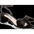 chiarastella - Miu Miu Bow satin sandals - Sandals -
