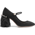 ValeriaM - Miu Miu Feather Trimmed Shoes - Classic shoes & Pumps -
