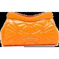 Vampirella24 - Miu Miu orange patent clutch bag - Clutch bags -