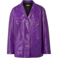 JelNik - Miu Miu Oversized leather jacket - Jacket - coats -