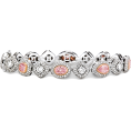 Rocksi - Mixed Shape Fancy Pink Diamond Bracelet - 手链 -