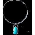 rebelsoul50 - Modern Bohemian Turquoise Choker - Collares - $153.00  ~ 131.41€