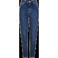 Bev Martin - Moto Dark Blue Mom Jeans - Jeans -