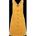 Aurora  - Mustard Pini Dress - Dresses -