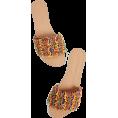 ValeriaM - Mystique Coral Slides  - Sandals - $161.00