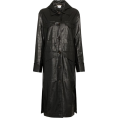Georgine Dagher - NANUSHKA Gus single breasted faux crocod - Jacket - coats -