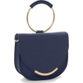 Maria Kuroshchepova - Navy Blue Purse - Venus - Hand bag -