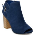 Bev Martin - Navy Blue Ankle Boot - Boots -