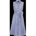 Bev Martin - Navy & White Striped Dress - Dresses -