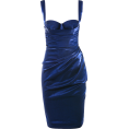 Mees Malanaphy - Navy drape dress - Haljine -
