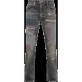 carola-corana - Neighborhood Gritty Savage Distressed Je - Capri hlače - 795.00€