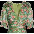 beautifulplace - Neil Floral Print Silk Blouse AMUR - Shirts -