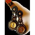 Sabaheta - New Soutache studs made of authentic but - Brincos -