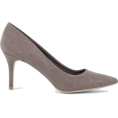 DotingSage - Newlook Grey Suedette Pointed Court Shoe - Classic shoes & Pumps - £17.99  ~ $23.67