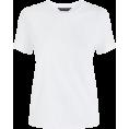 DotingSage - Newlook White Short Sleeve T-Shirt - T-shirts - £3.99  ~ $5.25