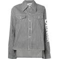 JecaKNS - OFF-WHITE striped denim jacket - Giacce e capotti -
