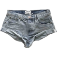 HalfMoonRun - ONE TEASPOON denim shorts - Shorts -