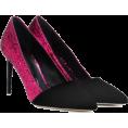 carola-corana - OSCAR DE LA RENTA Glitter and velvet pum - Classic shoes & Pumps - 658.00€  ~ $871.39