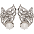 beautifulplace - OSCAR DE LA RENTA Crystal clip-on earrin - Серьги -