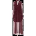 HalfMoonRun - OSCAR DE LA RENTA chiffon dress - Dresses -