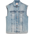 marija272 - OVERSIZED DENIM VEST - Jacket - coats -