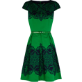 carola-corana - Oasis Dress Green - Haljine -