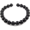 Viktoria Jurica - Onyx Bead Necklase - Necklaces -