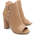 Elie - Musette open toe beige ankle boots - Boots -