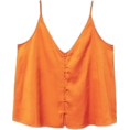 sandra  - Orange mango top - Tanks -