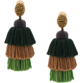ValeriaM - Oscar De La Renta Tassel earrings - Naušnice -