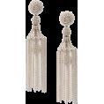 sandra  - Oscar de la Renta Micro Sphere Earrings - Earrings -
