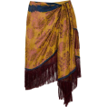 sandra  - Oscar de la Renta Silk-jacquard Skirt - Skirts -
