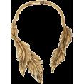 sandra  - Oscar de la renta leaf choker - Necklaces -