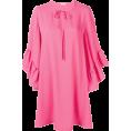 martinabb - P.A.R.O.S.H. peplum cuff shift dress - Dresses -