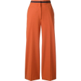 Georgine Dagher - PAUL SMITH cropped wide leg trousers - Capri & Cropped -