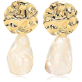 beautifulplace - PEET DULLAERT Cova 14kt yellow and white - Uhani -