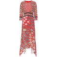 beautifulplace - PETER PILOTTO Floral fil coupé midi dres - Dresses -