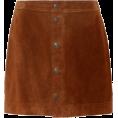 beautifulplace - POLO RALPH LAUREN Suede miniskirt - Skirts -