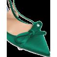 beautifulplace - PRADA  Bow-trim slingback satin pumps - Classic shoes & Pumps -